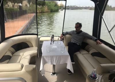 Crucero por el Guadalquivir. Paseo en barco